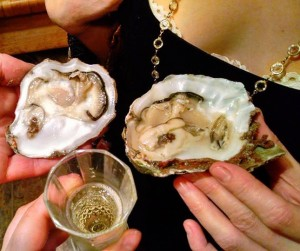 sensualist eat oyster