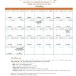 30 Day Challenge for Pleasure