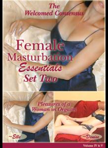 Female Masturbation Essentials Set Two (2DVD Set)