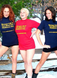 T-Shirt: Because Life Is Too Short for Mediocre Sex
